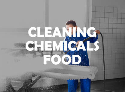 CLEANING CHEMICALS FOOD